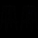 Tabourets de bar design réalisé en métal pour un effet chic et moderne.